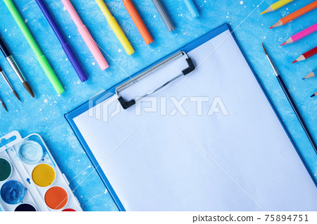?omposition of painting appliances 75894751