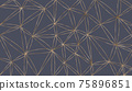 abstract geometric texture on grey 75896851