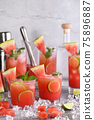 Vodka Watermelon Cocktail 75896887