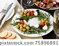 Christmas wreath - antipasto 75896891