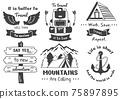 Vintage illustration Vector for banner 75897895