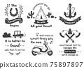Vintage illustration Vector for banner 75897897