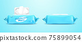 Disinfecting wipes pack mockup 75899054