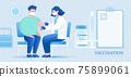 Taking vaccine in hospital 75899061