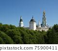 Trinity Sergius Lavra in Sergiev Posad. Russian Federation. UNESCO World Heritage Site. 75900411