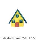 藍屋頂的房子 75901777