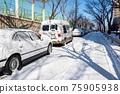 冬天 汽車 車 75905938