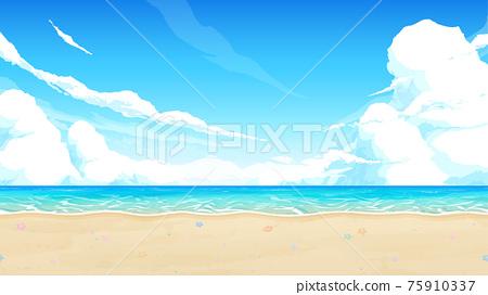 海 大海 海洋 75910337