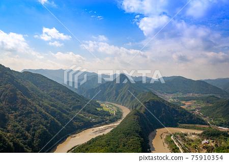 山 夏天 風景 75910354