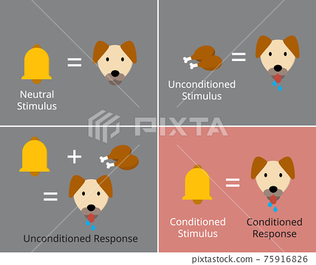 classical conditioning or Pavlovian or respondent conditioning for learning new stimulus 75916826