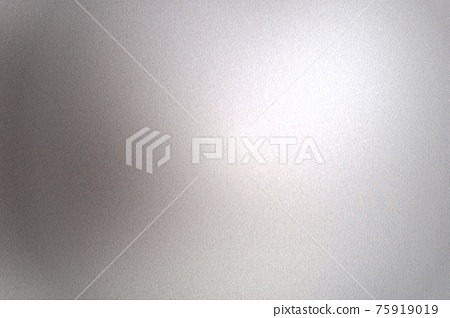 Light shining on gray silver foil glitter metallic wall with copy space, abstract texture background 75919019