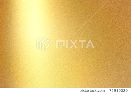 Gold foil glitter metallic wall with copy space, abstract texture background 75919020
