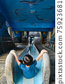 濂洞國小 溜滑梯 彩繪 海底世界 小孩 新北市 台灣 瑞芳 Slide 滑り台 遊戲 遊樂 75923681