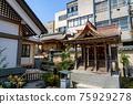 fukui, shrine, hall of worship 75929278