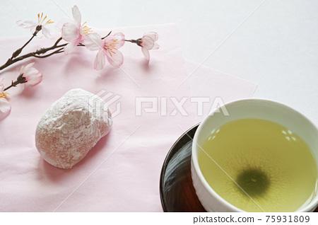 daifuku, wagashi, japanese confectionery 75931809