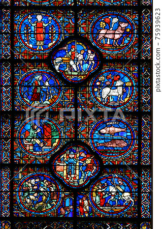 stained-glass, anglican, church 75939623