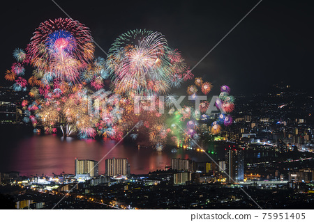 [Otsu City, Shiga Prefecture] Lake Biwa Fireworks Festival 75951405