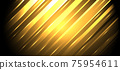 Abstract background golden diagonal stripes lines with glowing light 75954611
