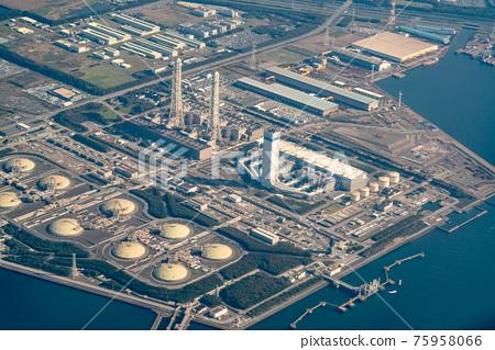 工廠 鳥瞰圖 空中拍攝 75958066