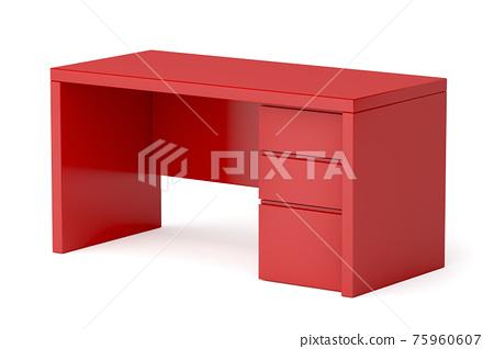 Modern red desk 75960607