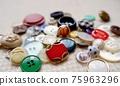 button, buttons, handicrafts 75963296