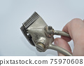 Manual hair clipper in the barber shop and at home 75970608