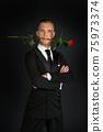 Ballroom male dancer in action 75973374