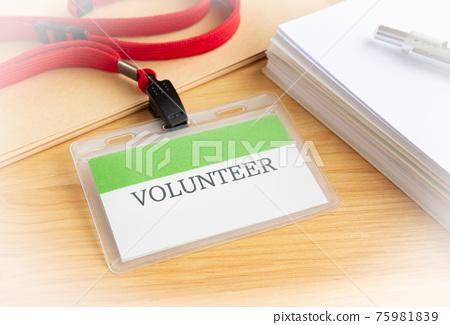 VOLUNTEER Volunteer Documents Nameplate 75981839