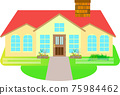 housing, residential, detached house 75984462