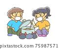 요리하는 아이들 75987571