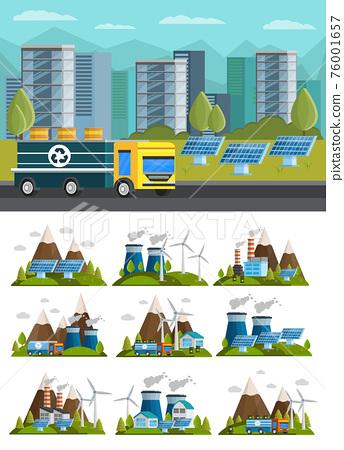 Ecology Orthogonal Compositions Set 76001657