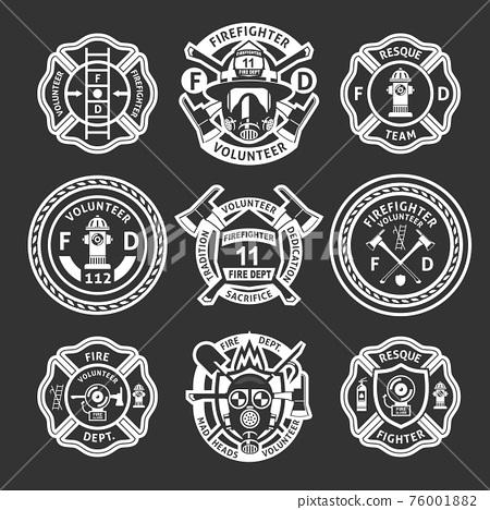 Firefighter White Label Set 76001882
