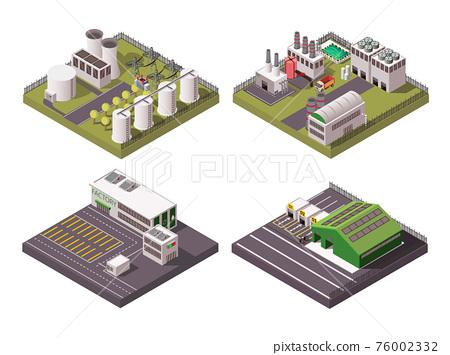 Factory Composition 2x2 Set 76002332
