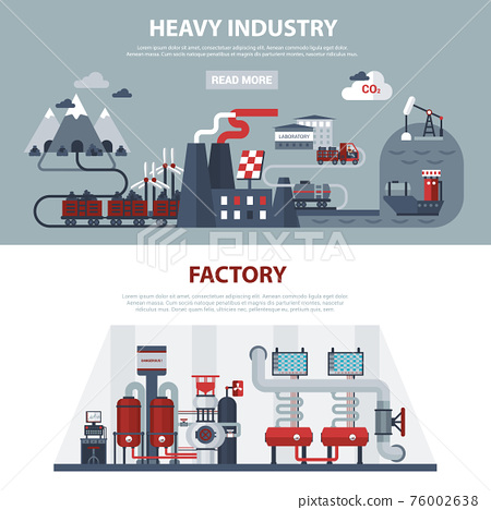 Energy And Industry Banners 76002638