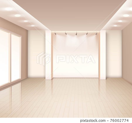 Empty Modern Room Interior 76002774