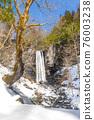 大雪鋪滿的路 寒冬 冬天 76003238