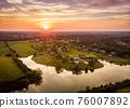 Sunset in rural Kentucky 76007892