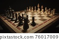 First moves of pawns on the chessboard 76017009