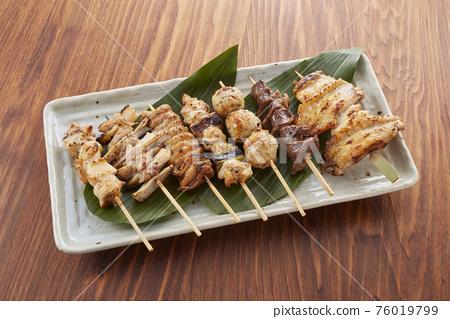 日式烤雞串 烤雞肉 什錦 76019799