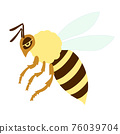 蜜蜂 矢量 卡通人物 76039704