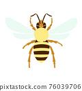蜜蜂 矢量 八 76039706