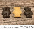 熊 餅乾 糖果 76054274