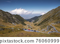 The best driving track in the world. Transfagarasan, Romania 76060999