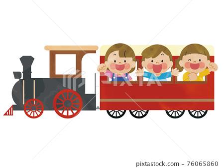 火車 兒童 孩子 76065860