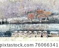 嵐山 楓樹 紅楓 76066341