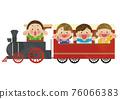 火車 兒童 孩子 76066383