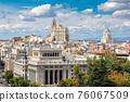 Plaza de Cibeles in Madrid 76067509