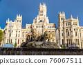 Cibeles fountain in Madrid 76067511