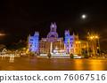 Cibeles fountain  in Madrid 76067516