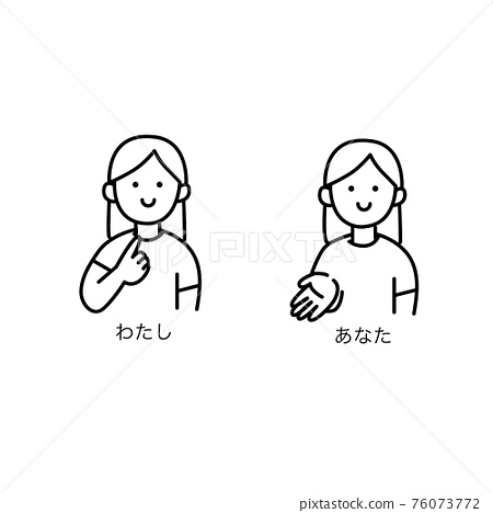 Sign Language, female, females 76073772